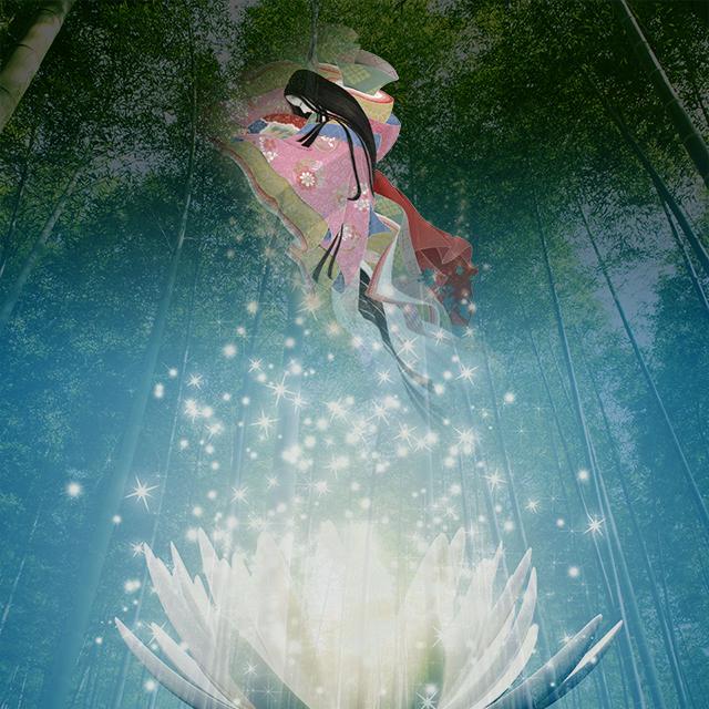 かぐや姫の昇天